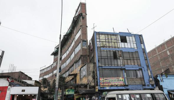 ¿El edificio más angosto del mundo?