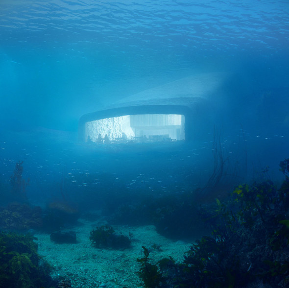 Conoce el primer restaurante submarino de Europa