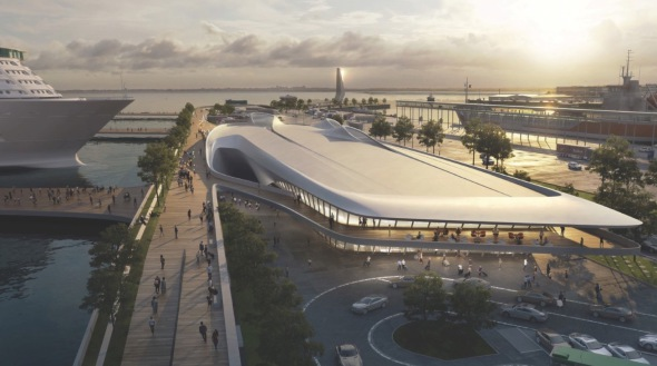 Zaha Hadid Architects gana concurso para el puerto de Tallin