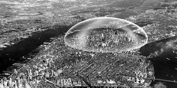 Grandes proyectos que nunca se construyeron: la cúpula sobre Manhattan (1960), Richard Buckminster Fuller