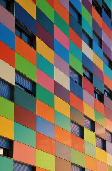 Arquitectos sin miedo al color