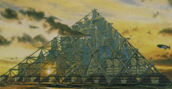 Grandes proyectos que no se construyeron: la Mega pirámide de Tokio (2004)