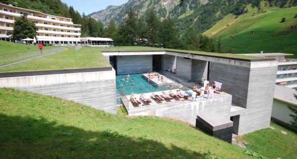 Maravillas de la arquitectura: las Termas de Vals, Peter Zumthor