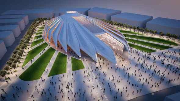 Calatrava ataca de nuevo: Pabellón para la Expo Dubái 2020