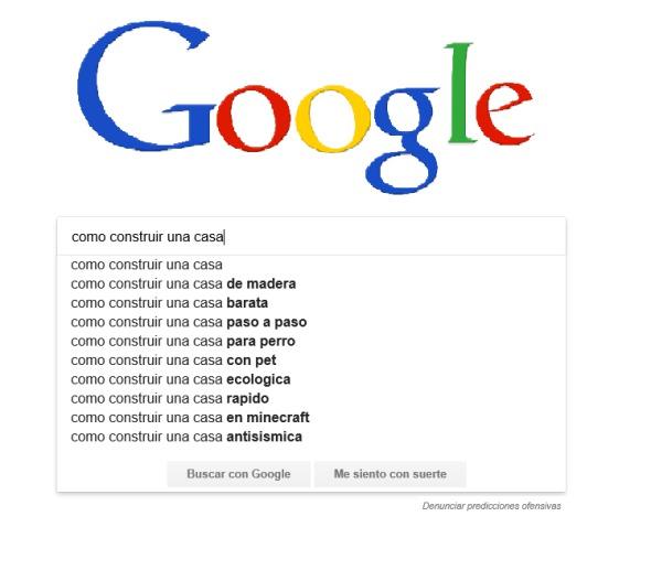 Cómo construir una casa según Google