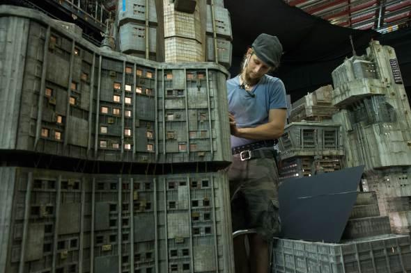 Las maquetas que dan vida a Blade Runner 2049