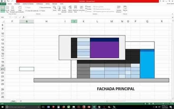 Humor en la arquitectura. Diseñando con Excel