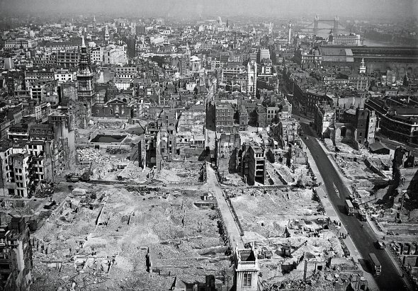 10 ciudades destruidas y después reconstruidas