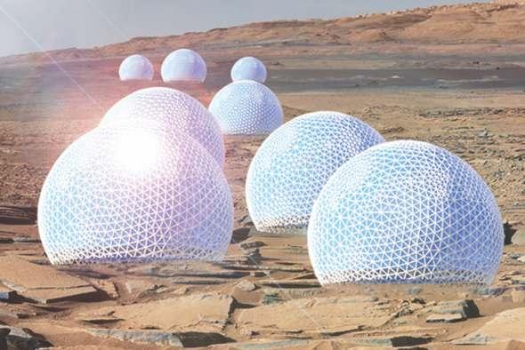 El premio a la mejor casa… en Marte