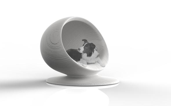 Perrera diseñada por Zaha Hadid Architects