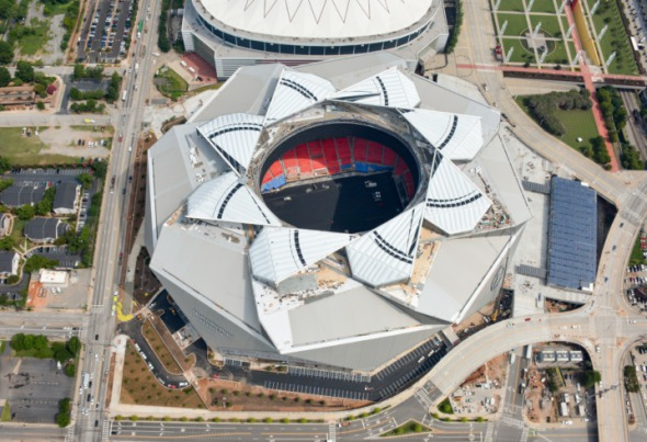 Conoce el estadio del Super Bowl LIII