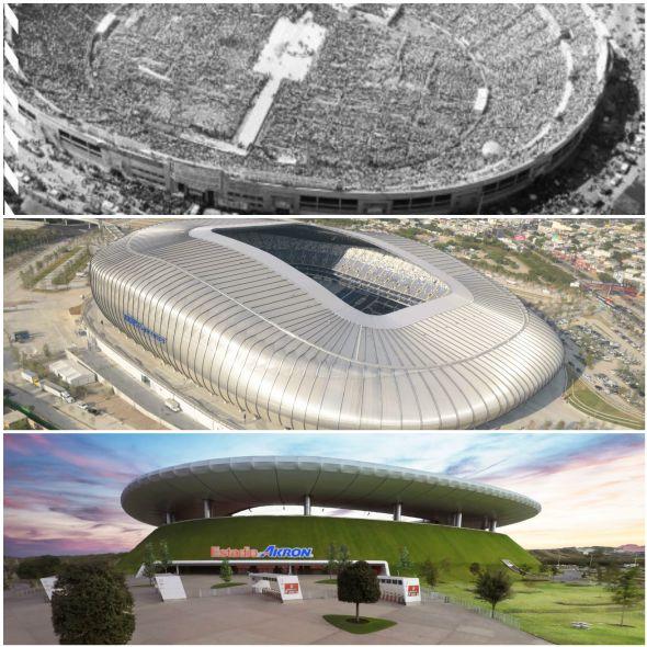 Estadios de fútbol mexicano: Del más viejo al más moderno