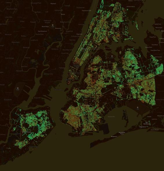 El algoritmo que determina cuál es la ciudad más verde del mundo