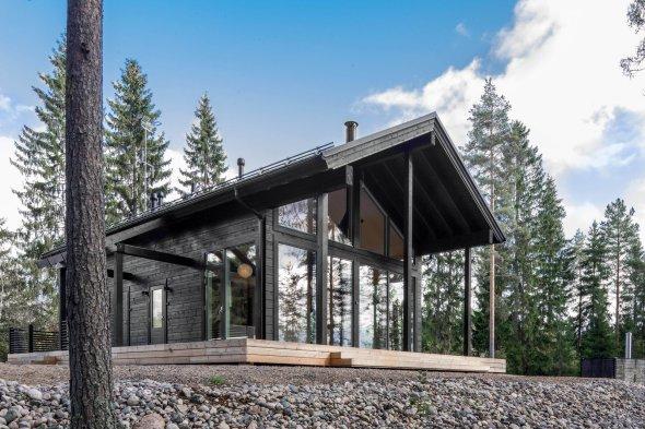 Cabañas finlandesas de madera