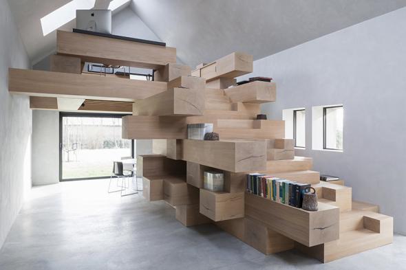 Escaleras que no sólo sirven par subir o bajar