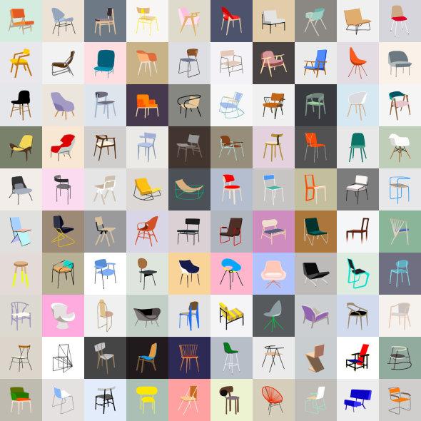 Las 10 sillas más famosas e icónicas de todos los tiempos