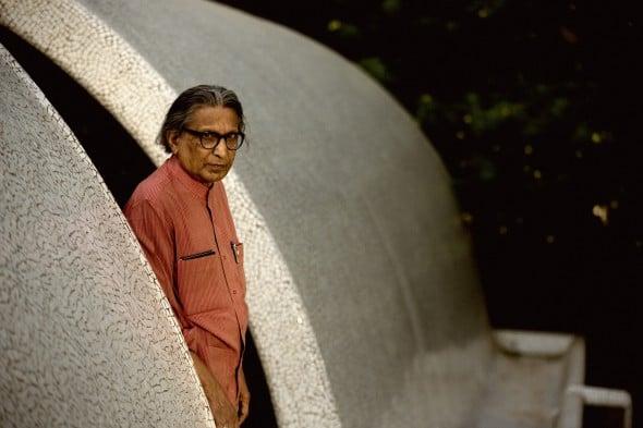 8 cosas que todo arquitecto debe saber sobre Balkrishna Doshi, Premio Pritzker 2018