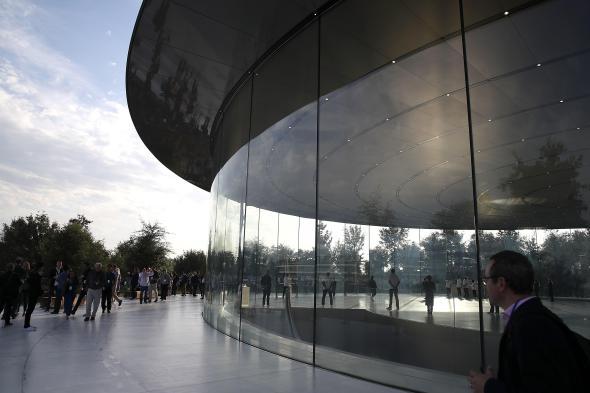 Empleados del cuartel general de Apple llaman al 911