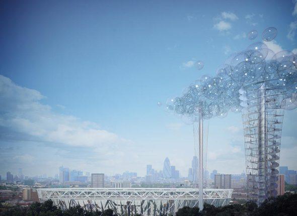 Grandes proyectos que no se construyeron. La Nube de Londres (2012)