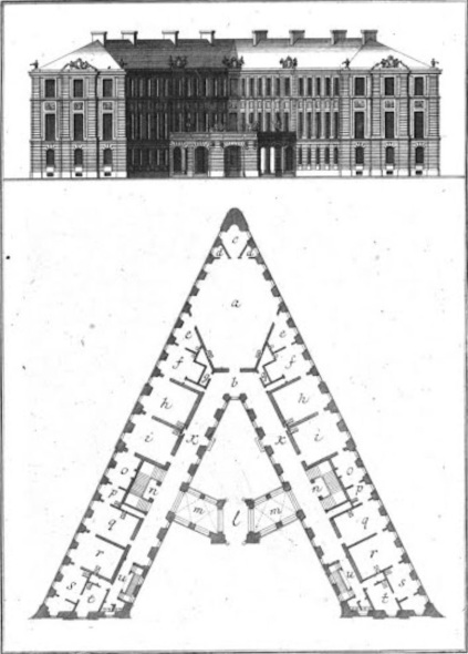 El alfabeto arquitectónico de Johann David Steingruber