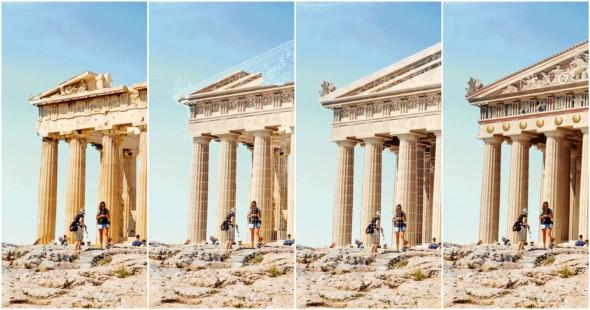 7 ruinas de la antigüedad reconstruidas en segundos