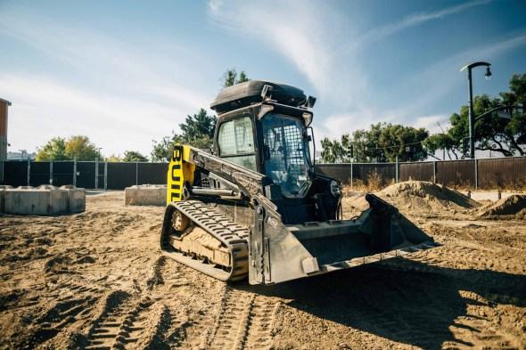 El bulldozer que no necesita operador
