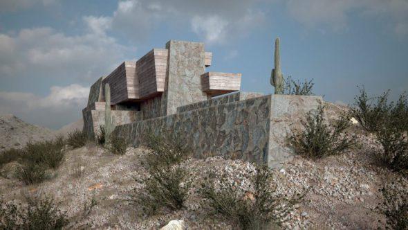 Arquitecto recrea obras perdidas de Frank Lloyd Wright
