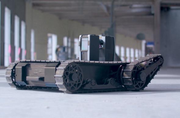 El robot que supervisa las obras y detecta errores