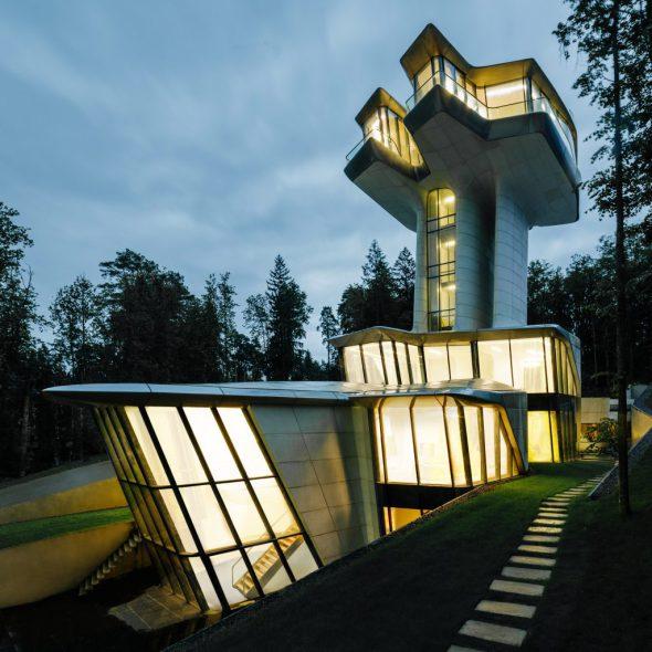 La casa que Zaha Hadid le hizo al James Bond ruso