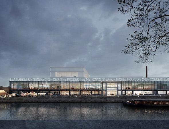 Nuevo museo Pompidou construido en antigua fábrica