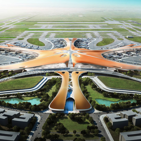 Primer gran proyecto de Zaha Hadid Architects en la India