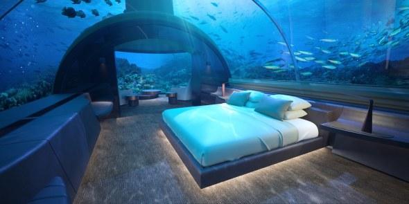 La primera habitación submarina de mundo