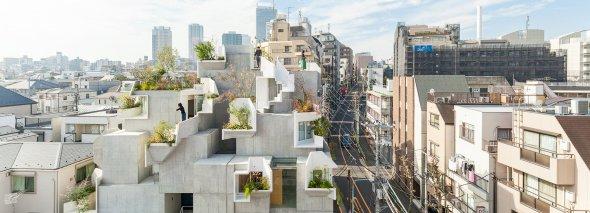 Una jungla de concreto en Tokio