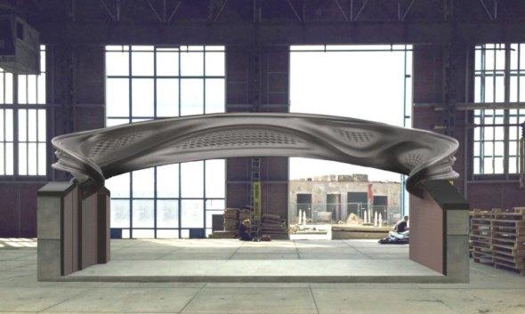 Primer puente de acero impreso en 3D