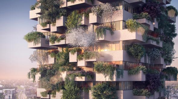 Los -edificios para árboles- del arquitecto Stefano Boeri