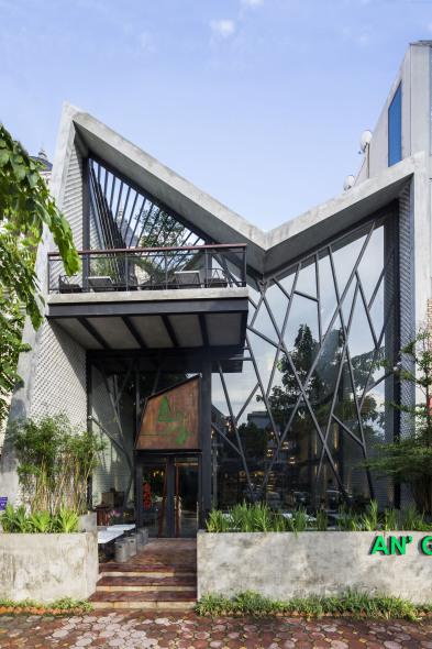 Un café inspirado en los Jardines Colgantes de Babilonia