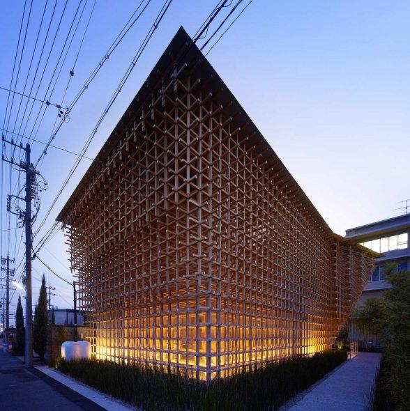 La arquitectura de madera de Kengo Kuma