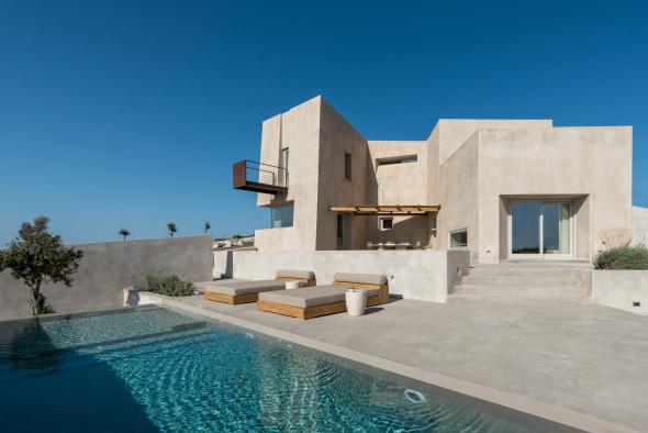 Casa de verano en isla griega