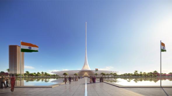 La ciudad diseñada por Norman Foster
