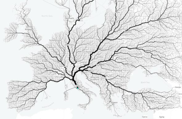 Se comprueba que todos los caminos conducen a Roma