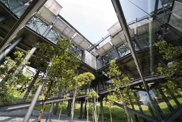 Casa en la selva de Kuala Lumpur
