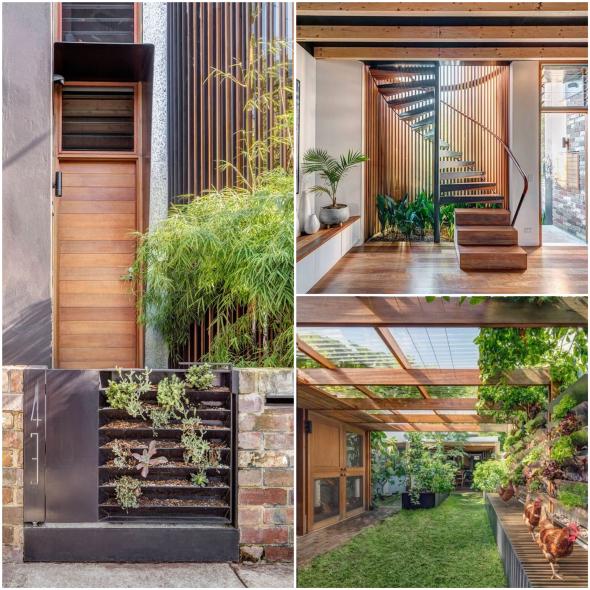 Con ayuda de arquitectos, pareja convierte su hogar en una casa sustentable