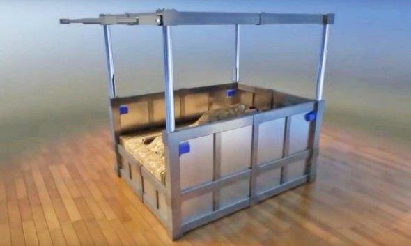 La cama que te puede salvar la vida durante un sismo