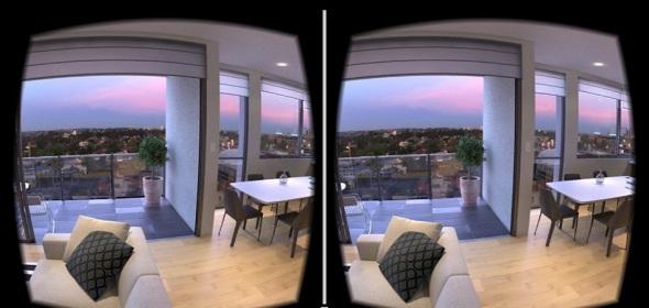 Lentes de realidad virtual para el mercado inmobiliario