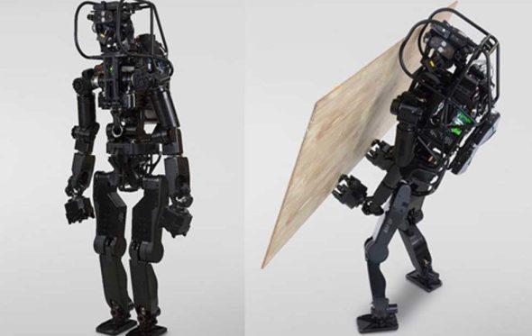 HRP-5P: el robot japonés que construye muros