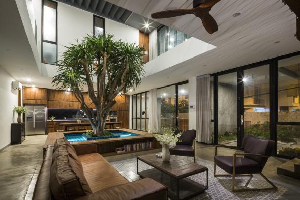 Casa Vietnamita Con Patio Interior Noticias De Arquitectura