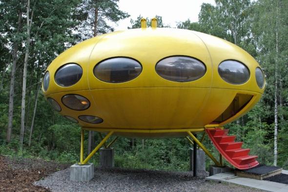 La casa del futuro diseñada en los años sesenta