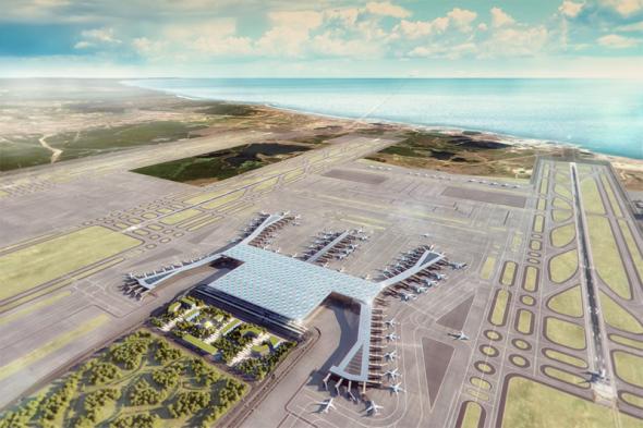En Turquía inauguran el aeropuerto más grande del mundo