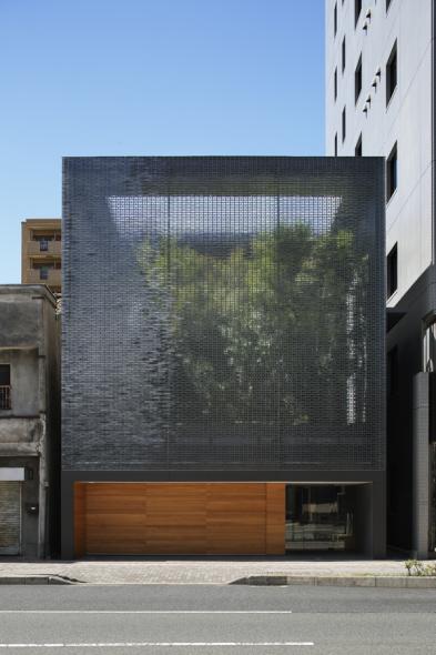 La casa con vidrios de aumento