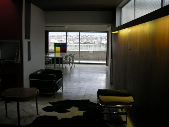 Abierto al público, el departamento de Le Corbusier en París